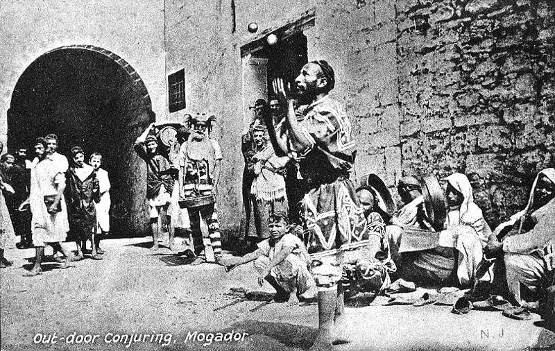 Les vieux métiers marocains... Musici10