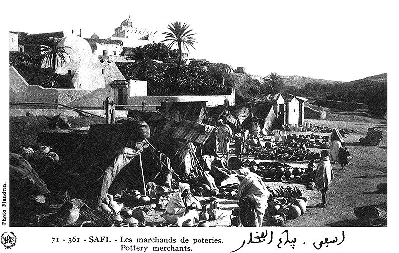 Les vieux métiers marocains... Potier10