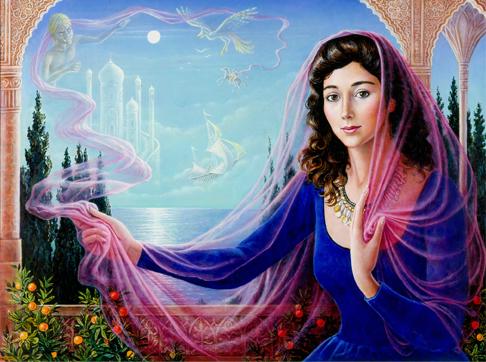 Je les ai trouvé très beaux ces tableaux ... Schera10