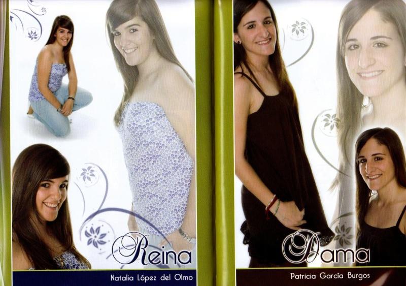 REINA Y DAMAS DE HONOR 2009 Imagen18