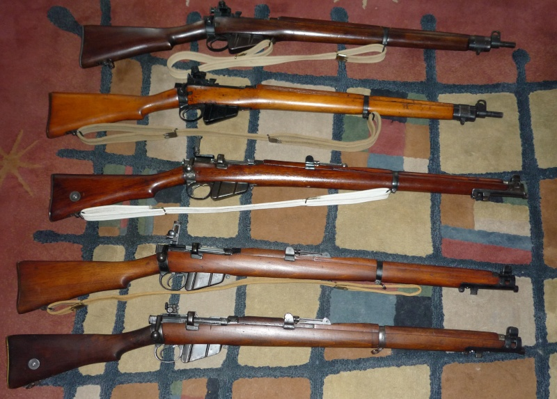 Ma Lee Enfield family P1020513