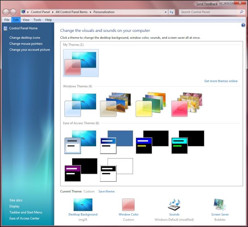 Windows Se7en en Images... Seven410