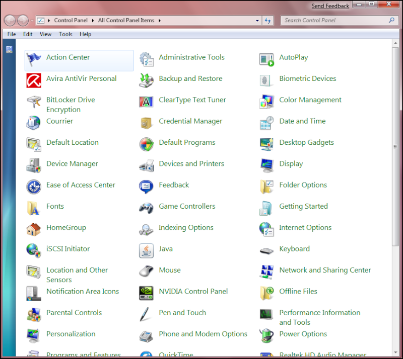 Windows Se7en en Images... Seven512