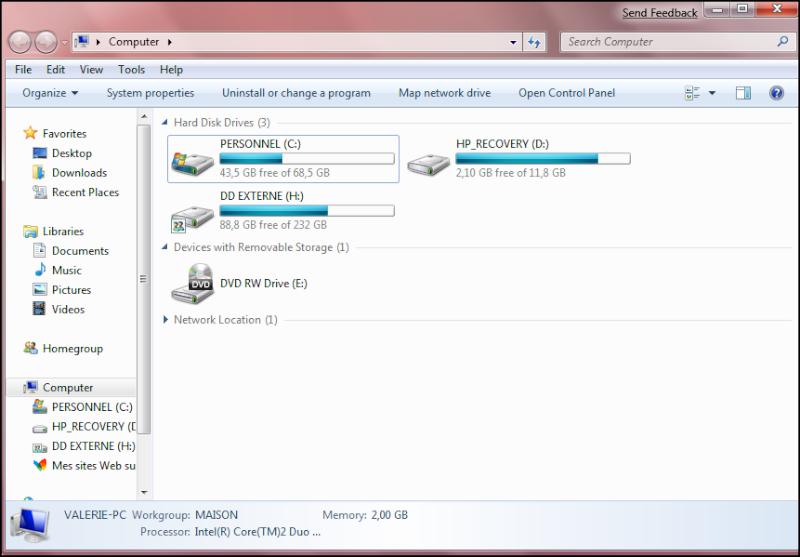 Windows Se7en en Images... Seven610