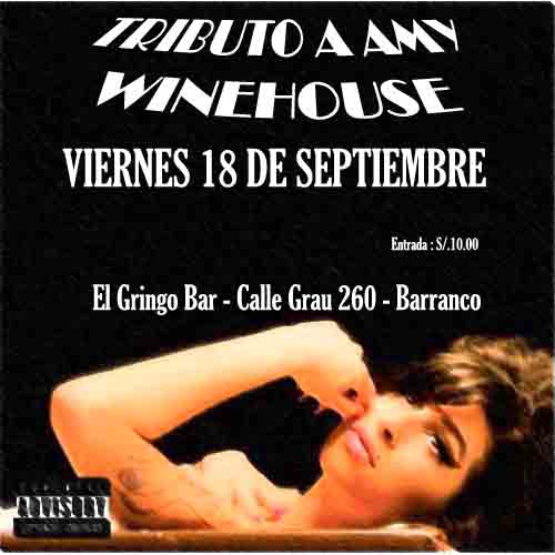 TRIBUTO A AMY WINEHOUSE Vierne10
