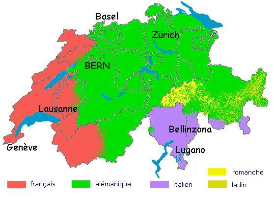 Cartographie Suisse10