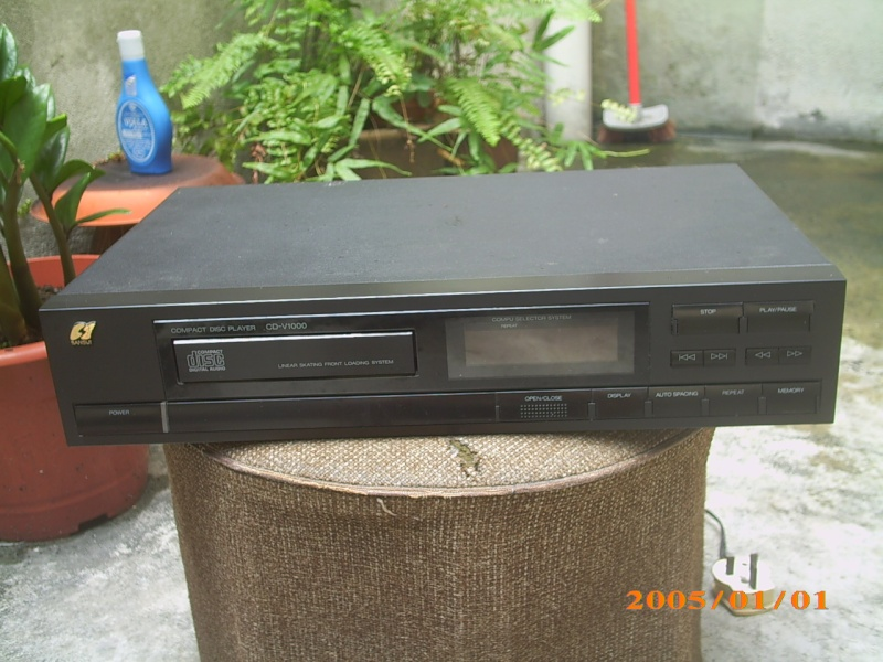 Sansui CD-V1000 CD player (Used)SOLD Img_0452