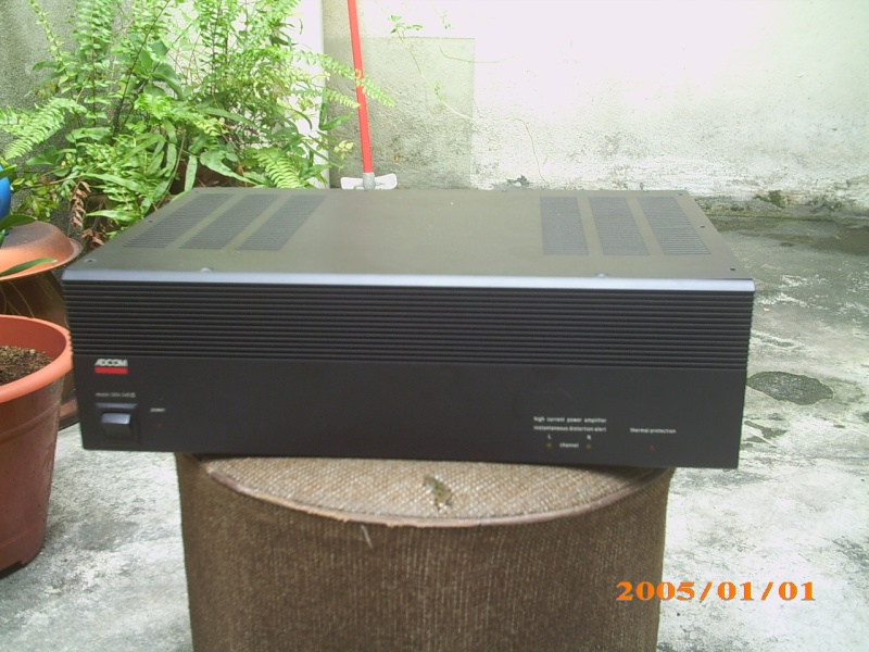 Adcom GFA-545 II power amp (Used)SOLD Img_0471