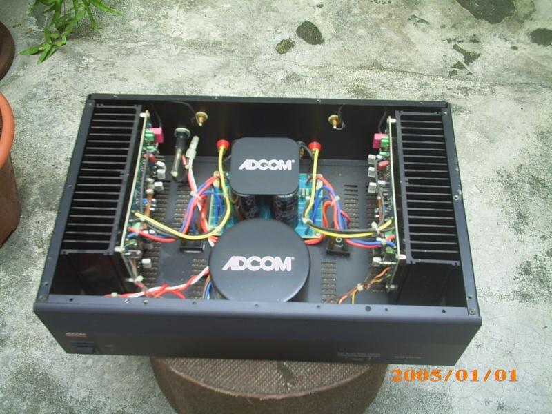 Adcom GFA-545 II power amp (Used)SOLD Img_0472