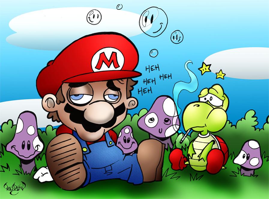 Imagens legais/interesantes de jogos *__* Mario_10