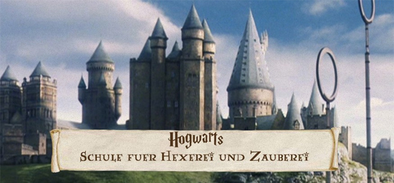 Clouds over Hogwarts Banner11