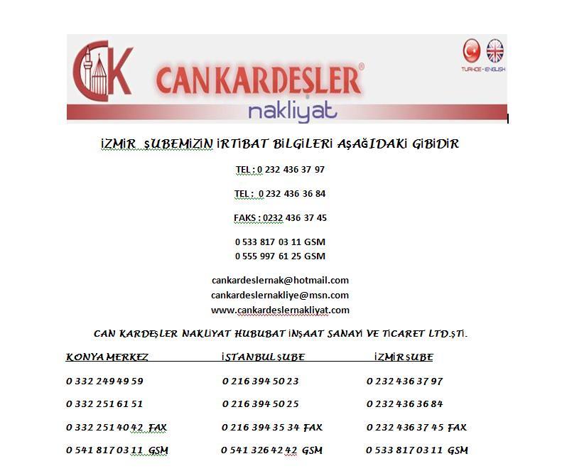 CANKARDEŞLER NAKLİYAT Cnk10
