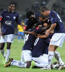 Anthony Laffor scored a hat-trick Supers12