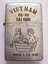 Black - zippo sur ebay Saigon10
