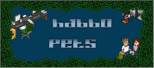 Habbo Pet's