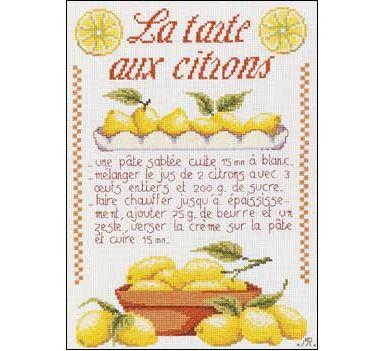 Proposition de S.A.L : Recette de la tarte aux citrons 97459-11