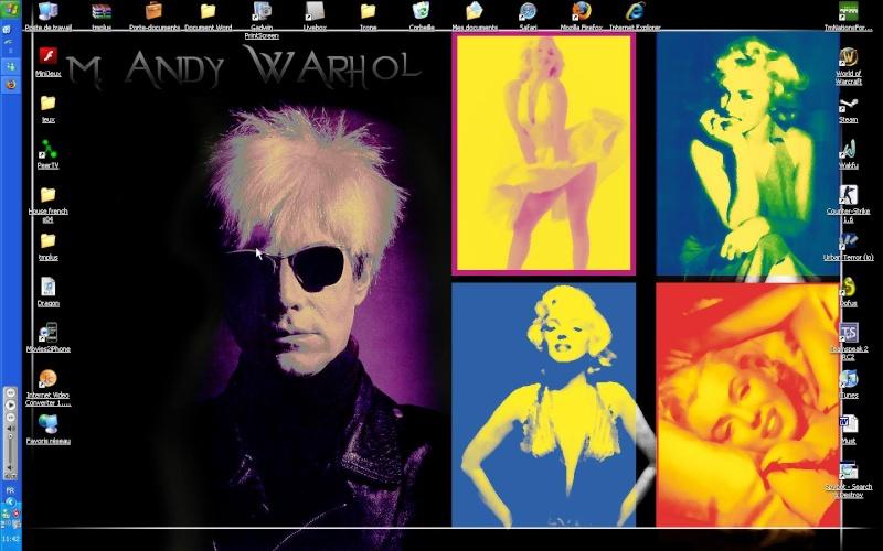 Fond d'écran Warhol10