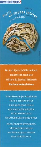 salon du livre de Paris Numa1999