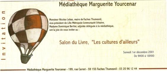 Médiathèque Marguerite Yourcenar de Faches-Thumesnil (59) Numa2037