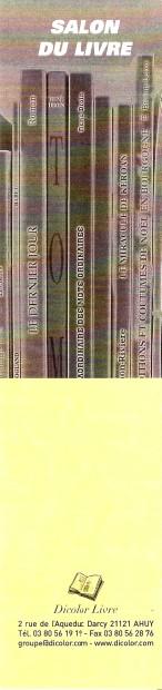 Manifestations autour du livre - Page 11 Numa2313