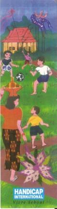 Santé et handicap en Marque Pages Numa2668