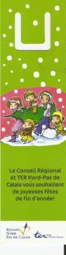 Joyeuses Fêtes en Marque Pages Numa3216