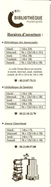 Bibliothèques de Boulogne sur mer (62) Numa3290