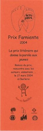 Prix pour les livres Numa3471