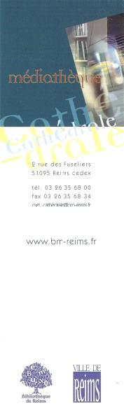 Bibliothèques et médiathèques de Reims Numa3993
