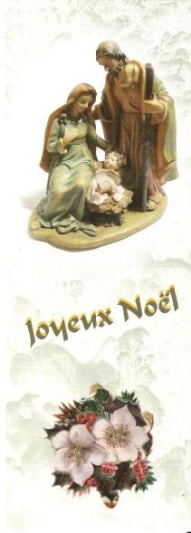 Joyeuses Fêtes en Marque Pages Numa4196