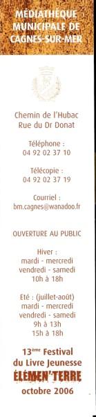 Bibliothèque municipale de Cagnes sur mer Numa4608