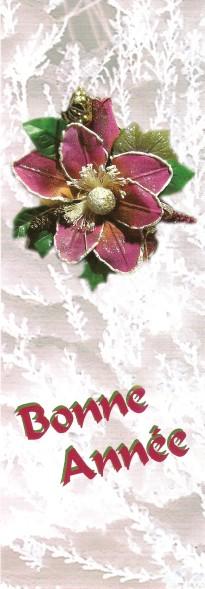 Joyeuses Fêtes en Marque Pages Numa4963