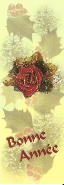 Joyeuses Fêtes en Marque Pages Numa4977
