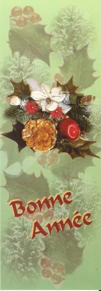 Joyeuses Fêtes en Marque Pages Numa4978