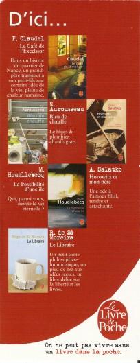 Livre de poche éditions Numar854
