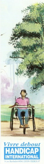 Santé et handicap en Marque Pages Numari98