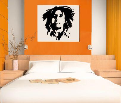 décoration chambre ado avec couleurs Bob Marley 00572_10