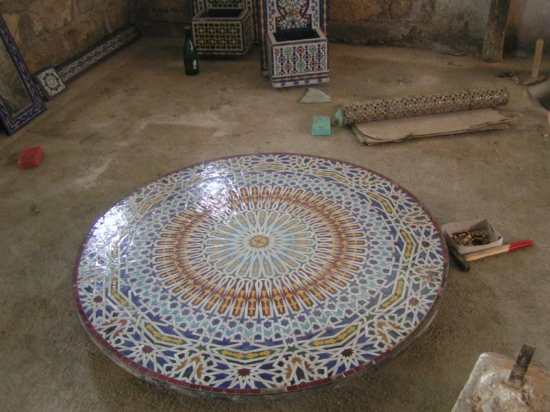 [Maroc/Histoire, Accueil...] zelliges Pict0125