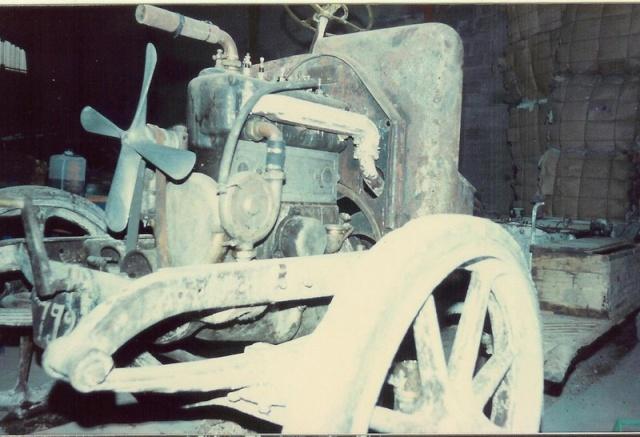 Fiat 18 BL avant restauration. Fiat1910