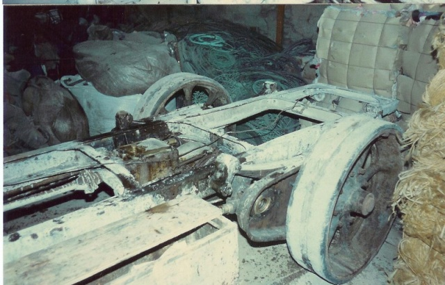 Fiat 18 BL avant restauration. Fiat1912