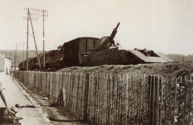 Train blindé BP 32. Panzer10