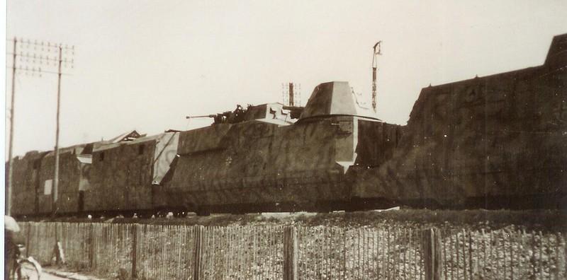 Train blindé BP 32. Panzer12