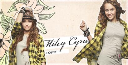חתימה של Miley Cyrus לתחרות עיצובים. Z10