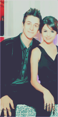 Selena Gomez & David Henrie Selena10