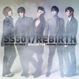 [Mini-Album] SS501 – Rebirth Cover310