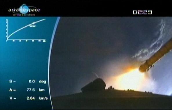 Ariane 5 ECA V191 / Amazonas 2 + COMSATBw-1 (01/10/2009) - Page 3 Ar110