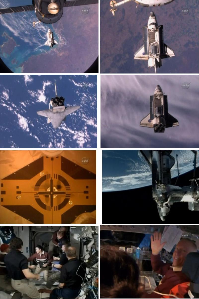 [STS-128: Discovery] suivi de la mission. - Page 2 Dockin10