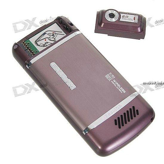 телефон со съемной скрытой камерой Jinpen11