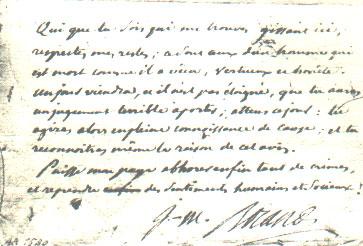 la mort des  21 Girondins & de Madame Roland 045810