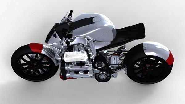 Pour les motards: Deux concepts Kickbo11
